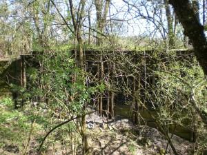 Überreste des Bunkers