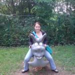 Pearlina mit neuem Freund ;-)