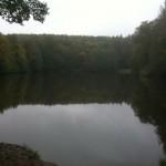 Schöner See bei meinem Alleingang